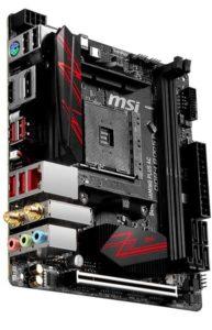 MSI B450I GAMING PLUS AC Ryzen 7 3700x Motherboard