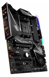 MSI MPG Gaming Edge WiFi x570 motherboard