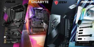 ASUS vs Gigabyte vs MSI vs ASRock