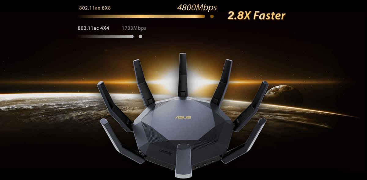 ASUS RT-AX89X Ultra-fast Speed