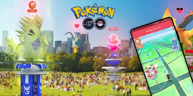 How to Fix Pokemon GO Network Error 2