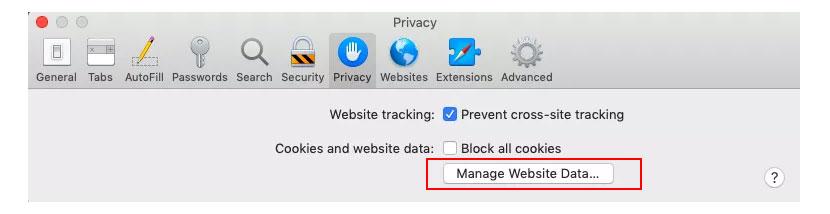 Delete Safari's Preferences